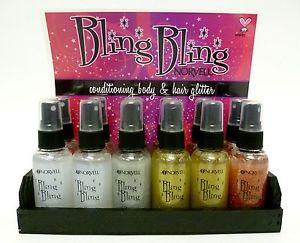 Norvell Bling Bling Counter Display (12 x 2oz Bottles)
